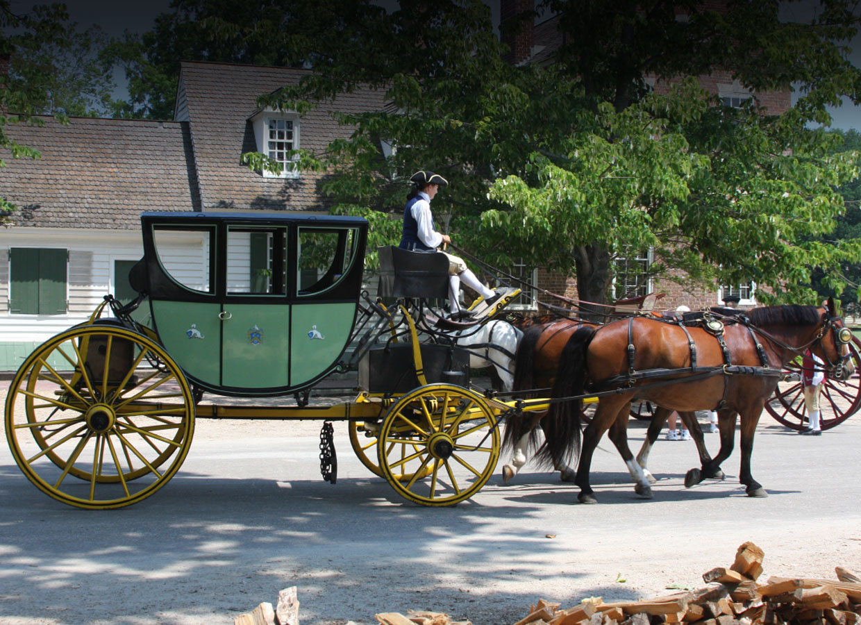 horse carriage williamsburg virginia