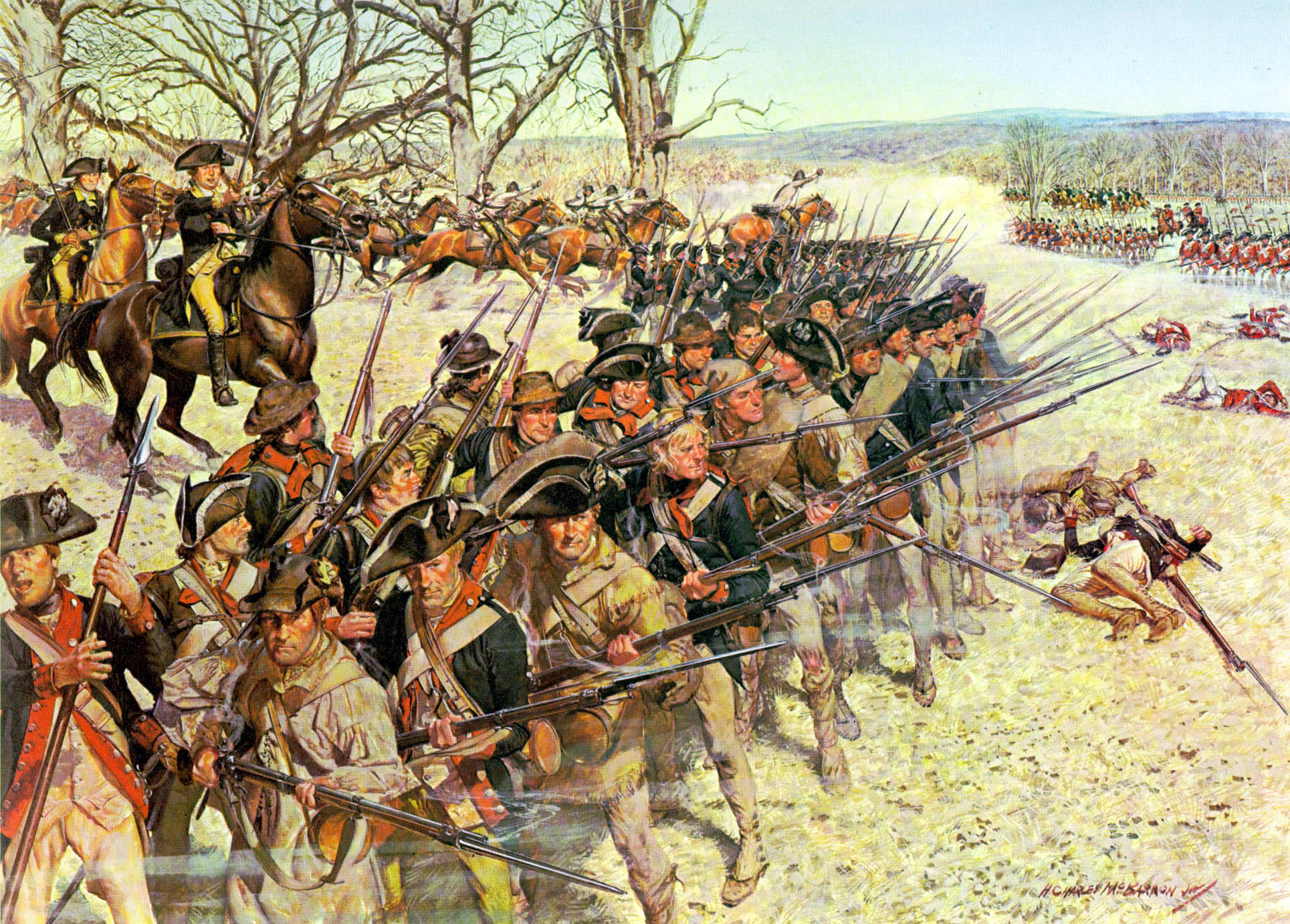 revolutionary war unrest