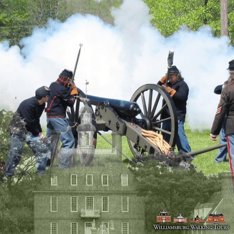 battle of williamsbuerg union forces