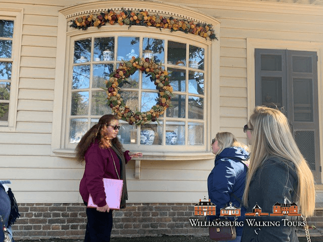 Williamburg Virginia Christmas Tour in Colonial Williamsburg