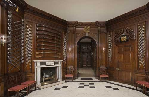 Colonial Williamsburg Governor's Palace interior
